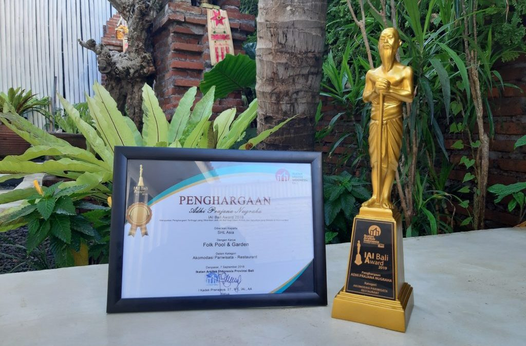 Winning the IAI Bali Award: Folk Pool & Garden