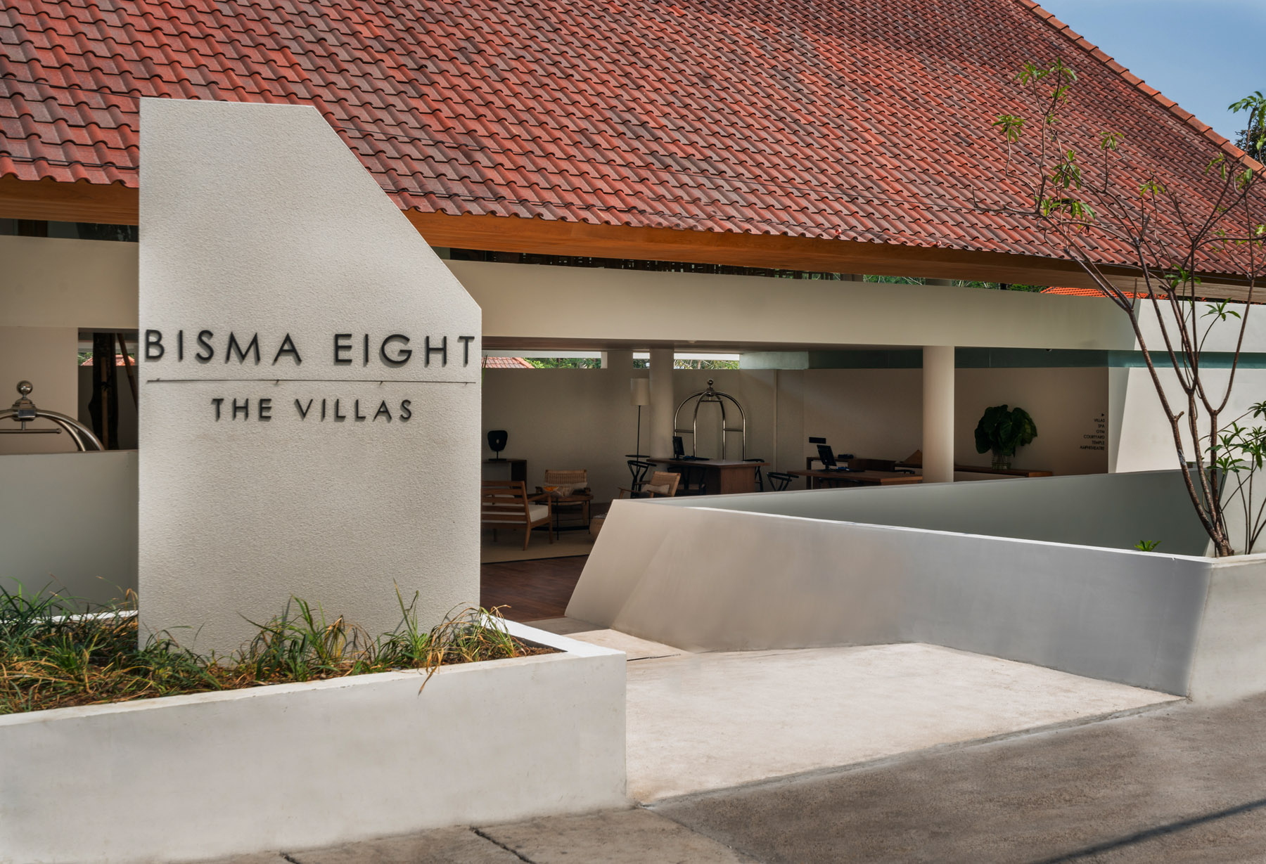 Landscape In The Villas At Bisma Eight: Less Is More